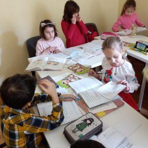 limba rusa copii